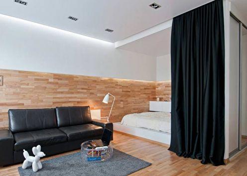 Зонирование комнаты (90 фото): способы и идеи