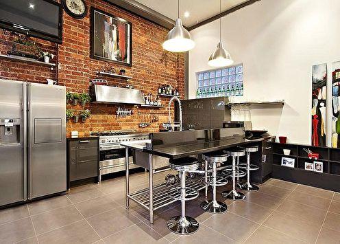 Кухня с барной стойкой (70 фото): идеи дизайна