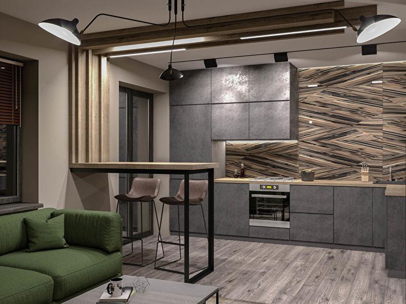 Дизайн квартиры «Туманная однушка»