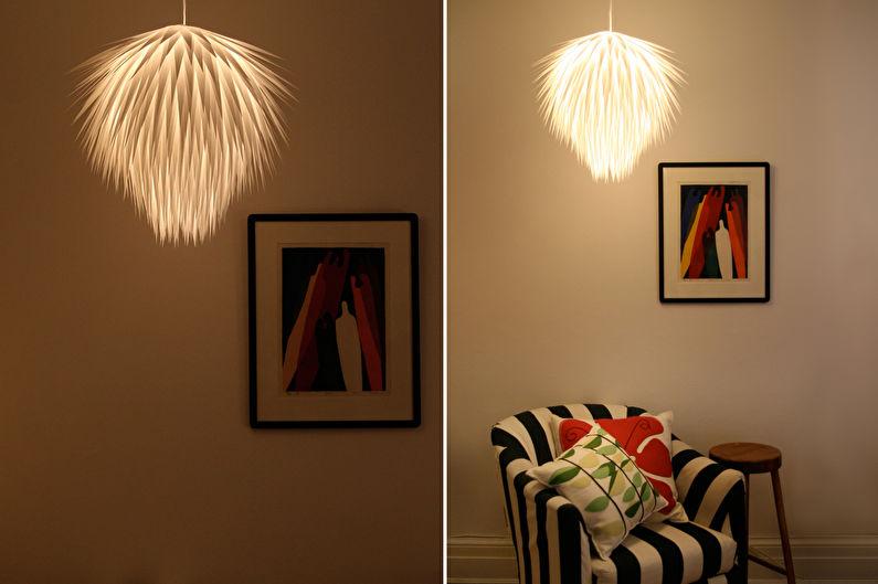 Плафоны для люстр из бумаги - Китайские фонарики