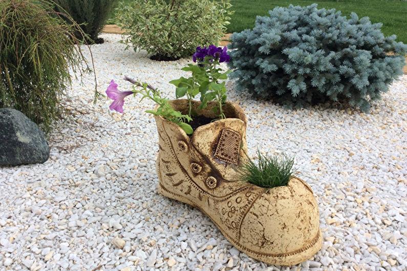 Украшения для сада своими руками - С чего начать