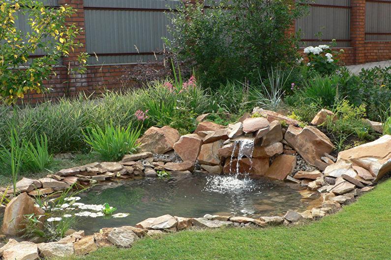 Украшения для сада своими руками - Водоем