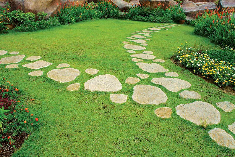 Украшения для сада своими руками - Садовые дорожки