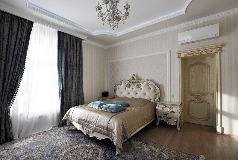 Дизайн спальни в классическом стиле - Отделка пола