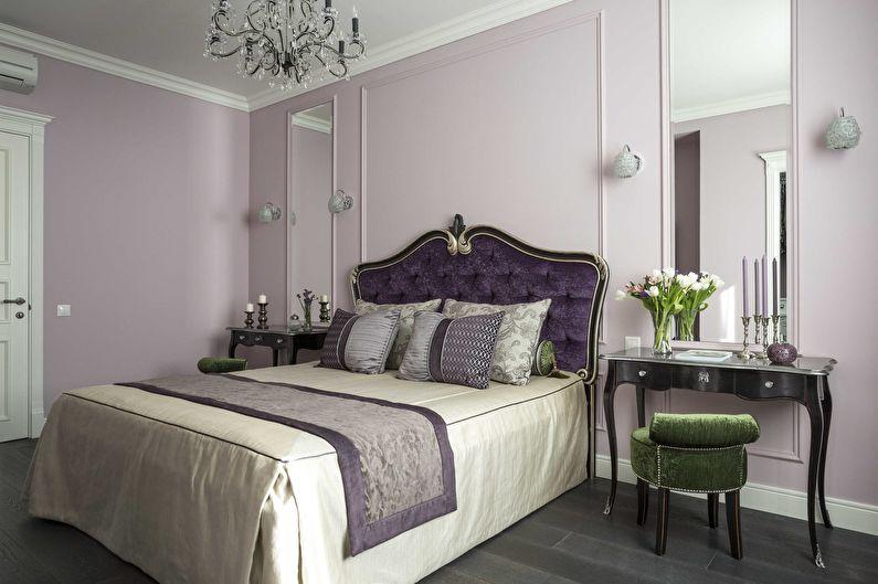 Дизайн спальни в классическом стиле - Мебель