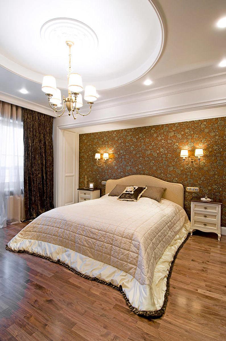 Дизайн спальни в классическом стиле - Освещение