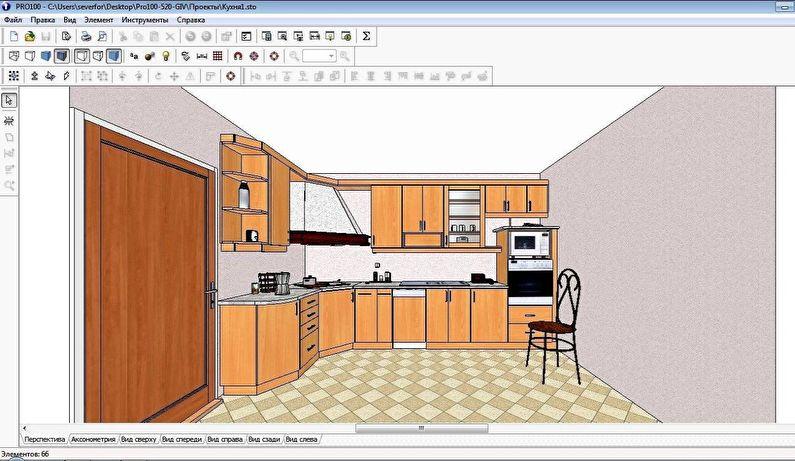 PRO100 - Бесплатные программы для дизайна интерьера