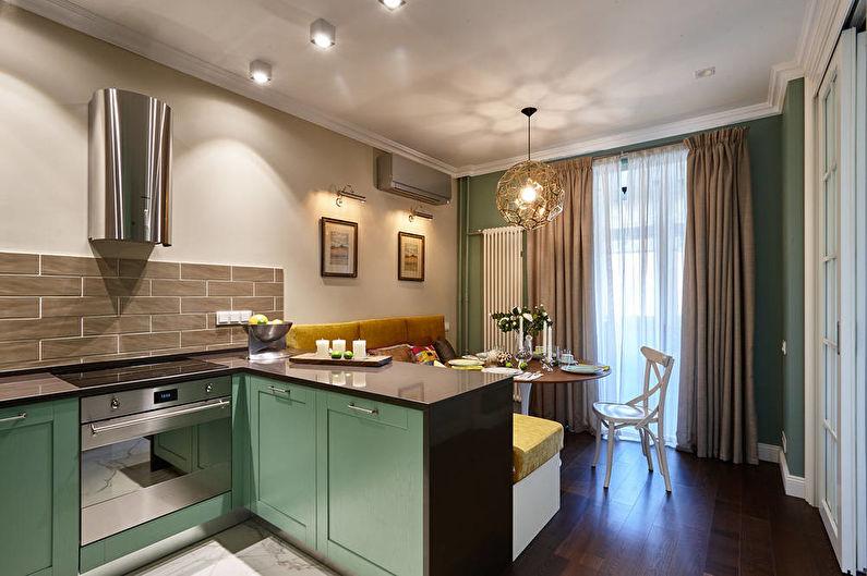 Дизайн кухни-гостиной в маленькой квартире - Пропорции