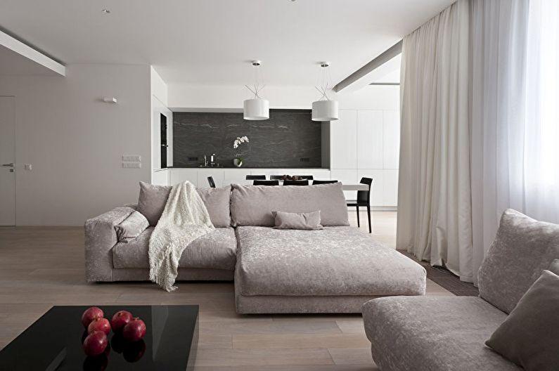 дизайн кухни гостиной 85 фото идеи интерьера кухни совмещенной с