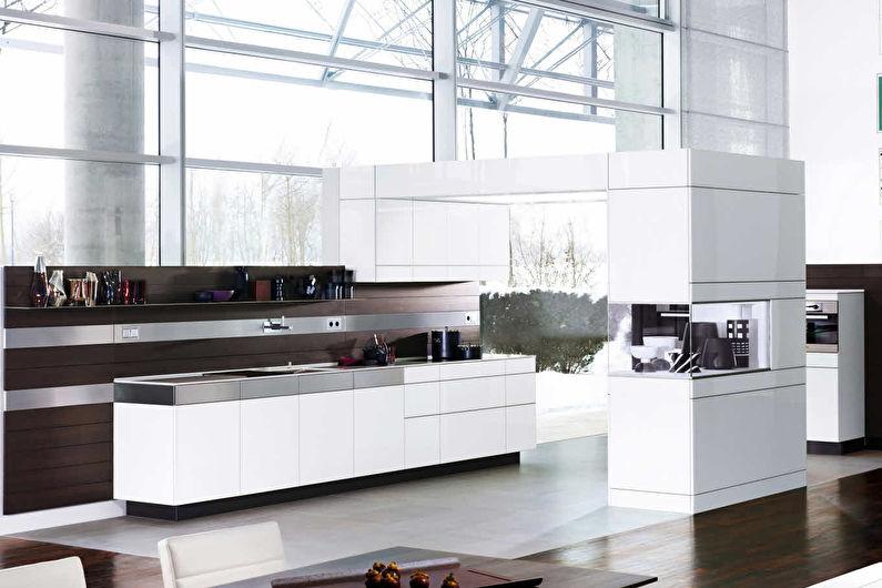 Архитектурные и встроенные кухни