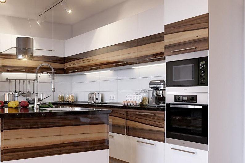 Встроенные кухни - Комплектация