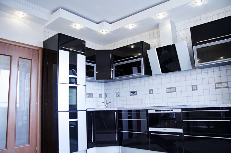 Встроенная кухня в современном стиле - Дизайн интерьера