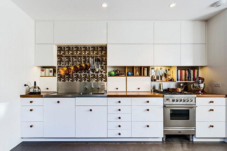 Маленькие встроенные кухни - фото, дизайн интерьера