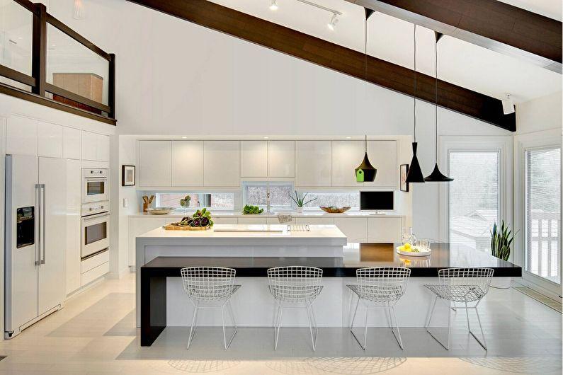 Встроенные кухни - фото, дизайн интерьера