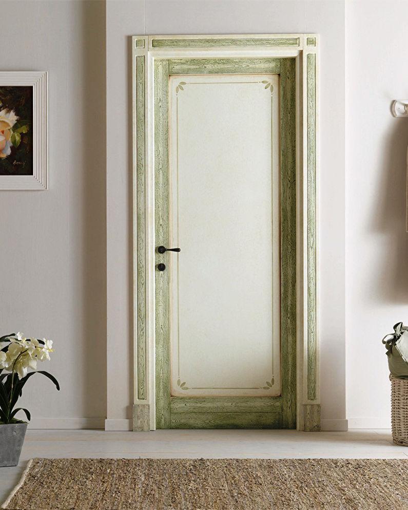 Декор старых дверей своими руками - Состаривание