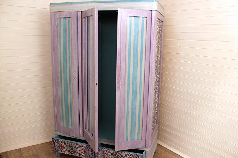 Декор старого шкафа своими руками - Покраска