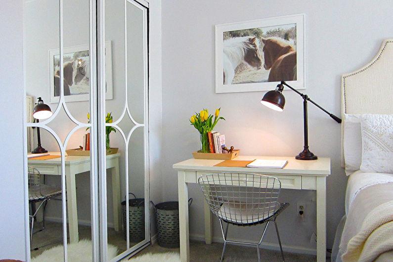 Декор старого шкафа своими руками - Зеркало
