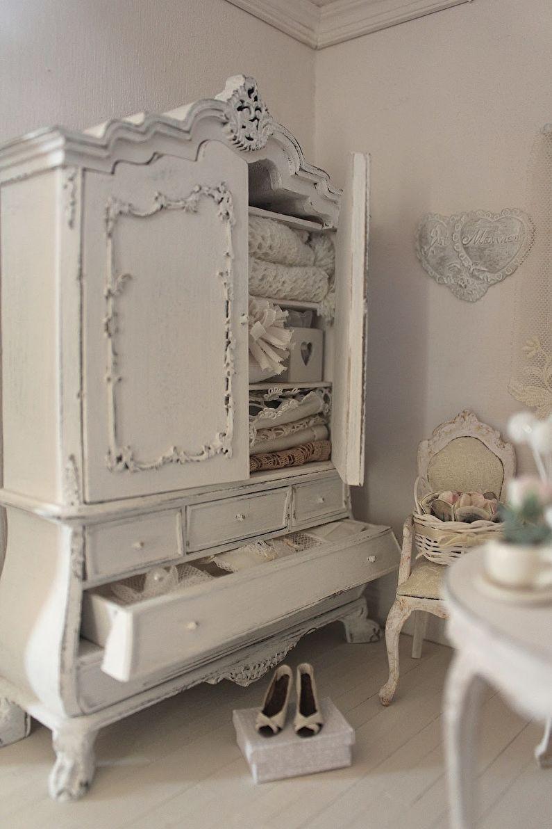 Декор старого шкафа своими руками - Состаривание