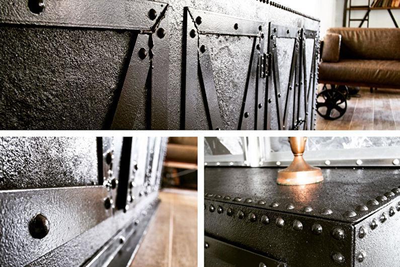 Декор старого шкафа своими руками - Заклепки