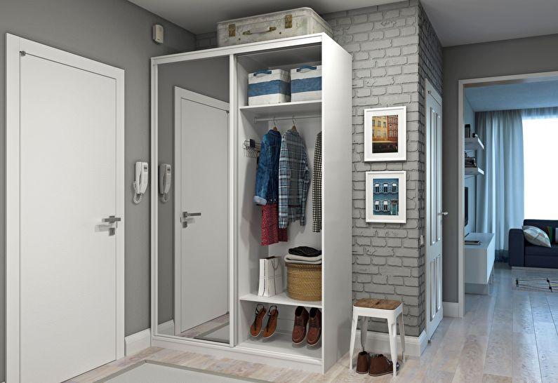 Дизайн прихожей в хрущевке - Увеличение дверных проемов