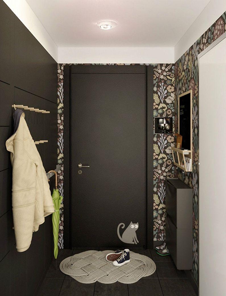 Дизайн маленькой прихожей в хрущевке - Отделка потолка