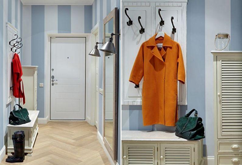 Дизайн прихожей в хрущевке - Мебель и аксессуары