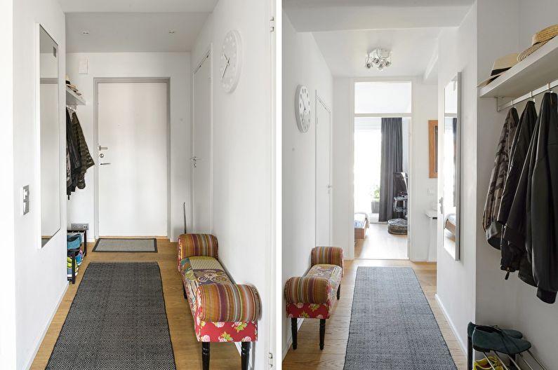 Дизайн интерьера прихожей в хрущевке - фото