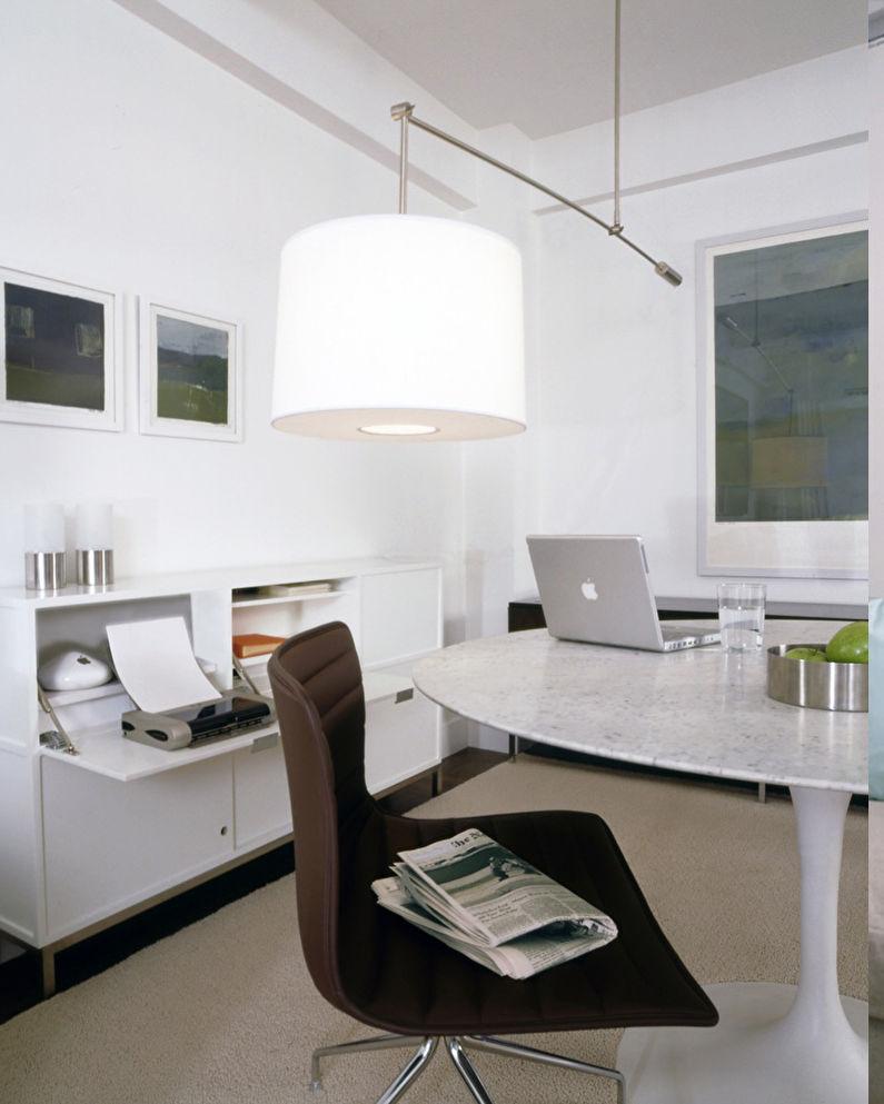 Минималистичные апартаменты - Зонирование однокомнатной квартиры