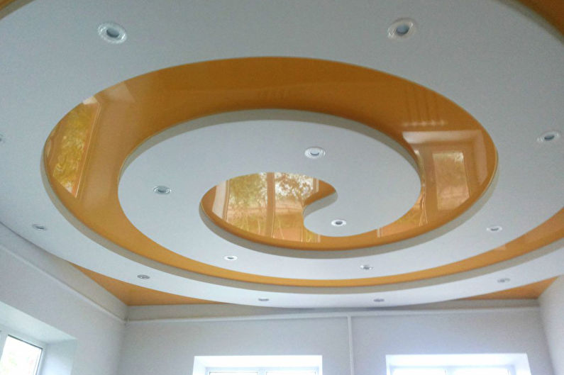 Потолки из гипсокартона на кухне: 60 фото, идеи дизайна