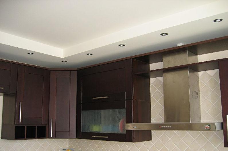 картинки потолок из гипсокартона кухня друзья позабудут долго