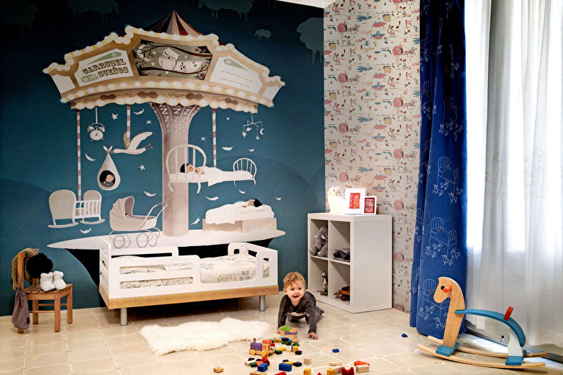 Обои для детской комнаты - фото