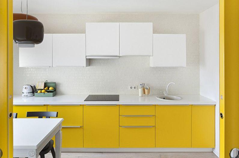 Дизайн кухни - Отделка стен