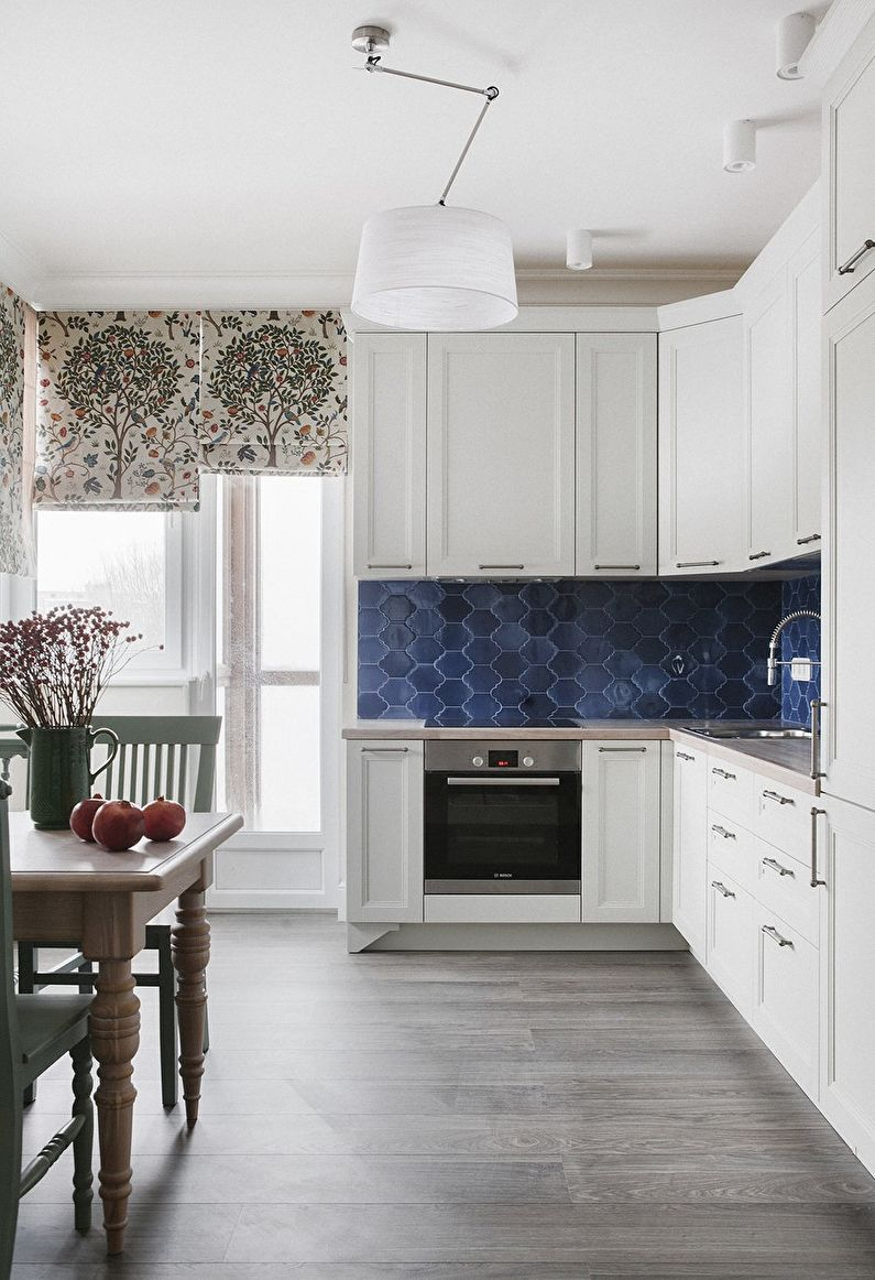 Дизайн кухни - Отделка потолка