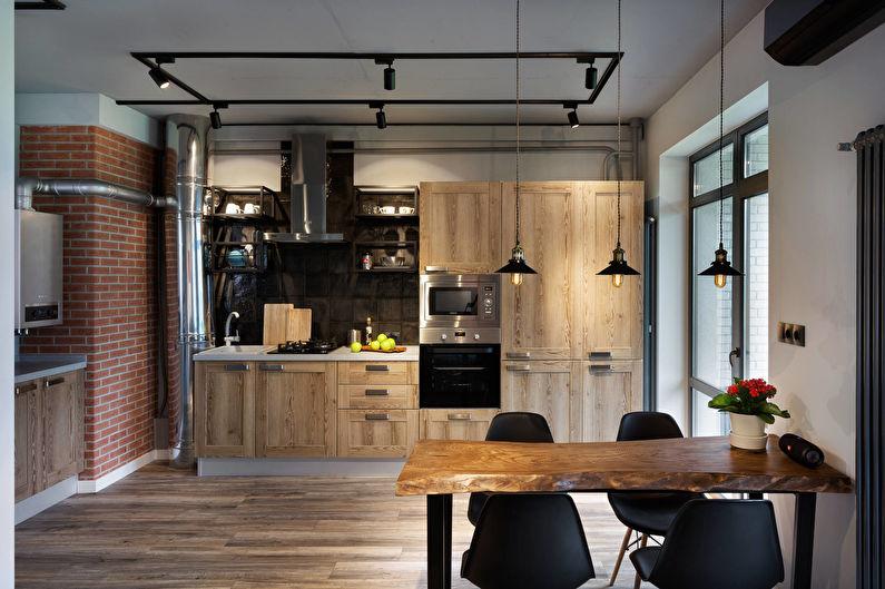 Дизайн кухни - Декор и освещение