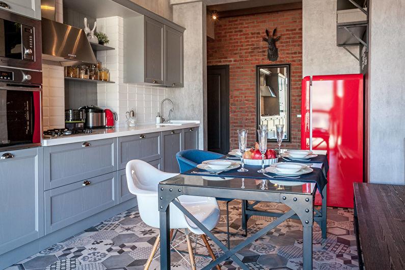 Дизайн интерьера кухни - фото