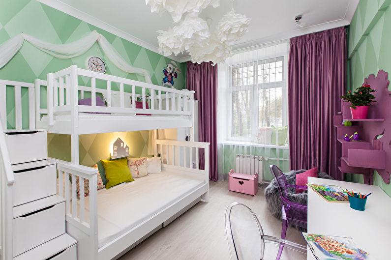 Какие выбрать обои для детской комнаты