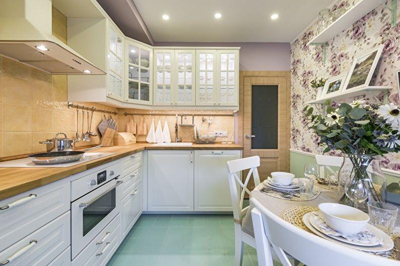 Дизайн интерьера кухни: 80 фото-идей