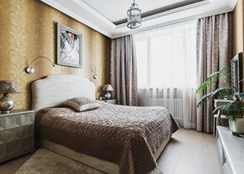 Дизайн спальни в классическом стиле (70 фото)