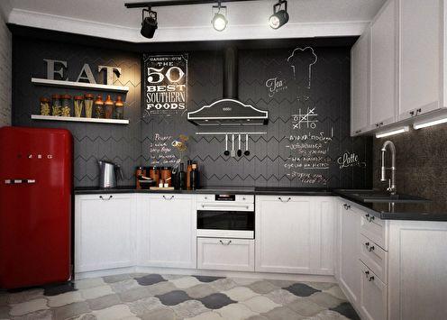 Дизайн кухни «NY Loft»