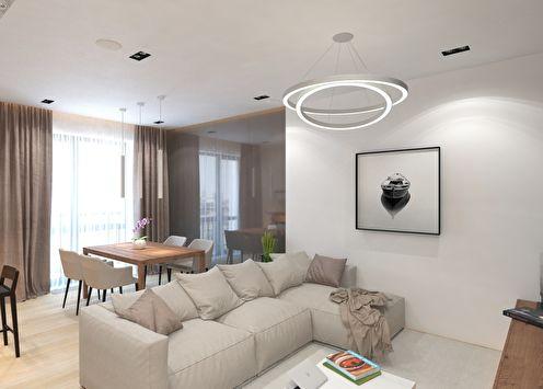 Дизайн квартиры в современном эко-стиле