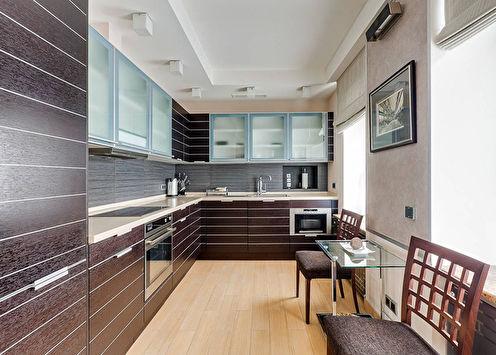 Потолки из гипсокартона на кухне (60 фото)