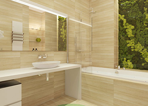 «Фито-zone»: Дизайн ванной комнаты
