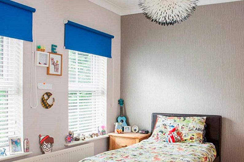 Рулонные шторы для детской комнаты - фото