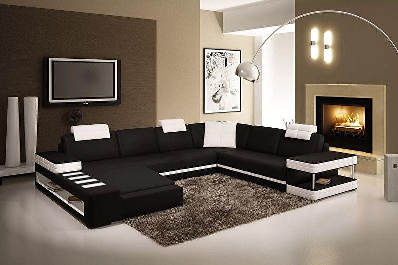 Модульные диваны - фото
