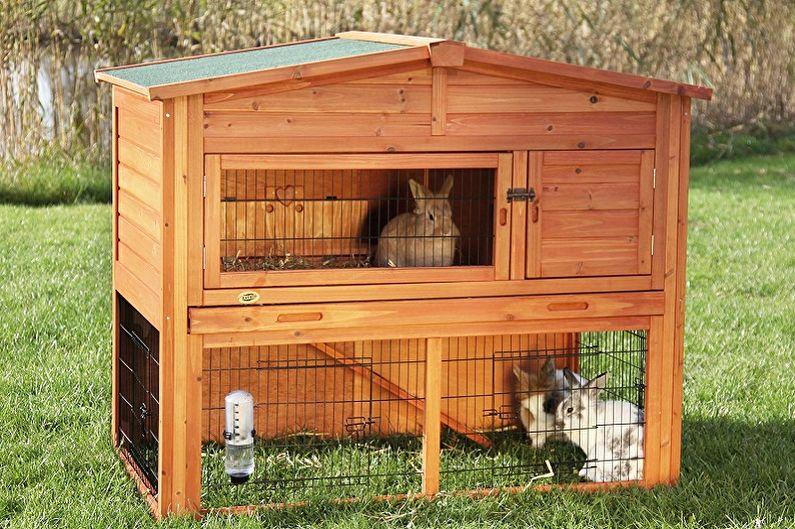 Клетки для кроликов своими руками - Виды