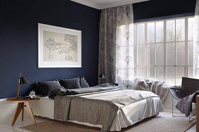 Краска для стен в спальне