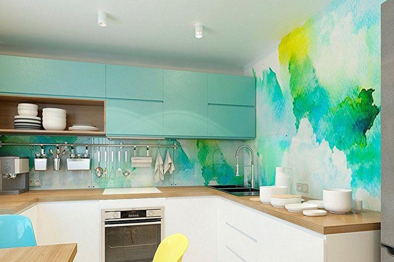 Краска для стен в кухне