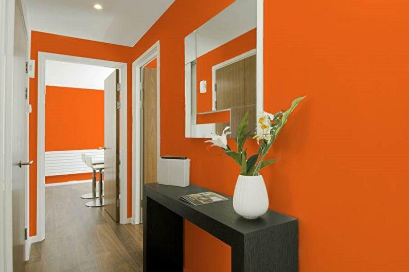 Краска для стен в прихожей