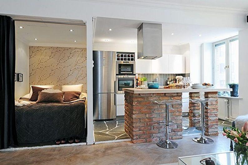 Планировка однокомнатной квартиры - Особенности