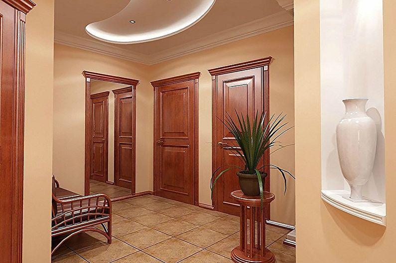 Дизайн коридора в квартире - Цвета и текстуры